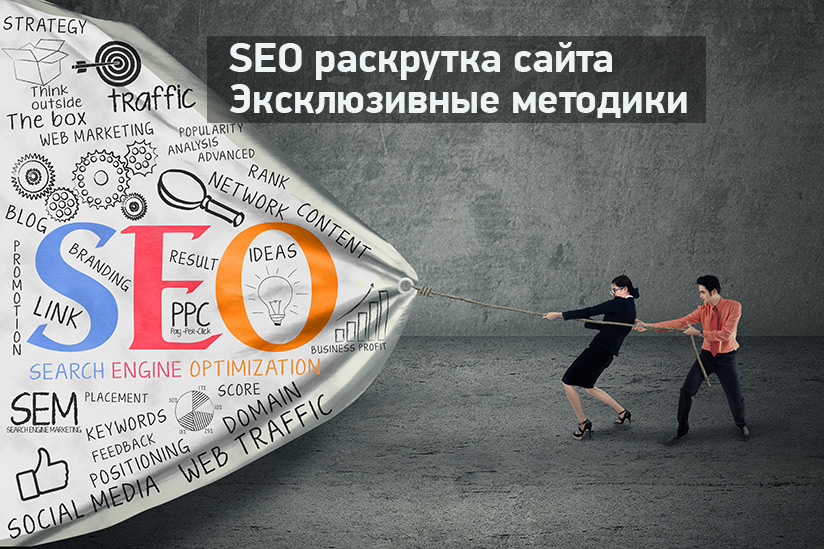 Эффективная SEO раскрутка сайта