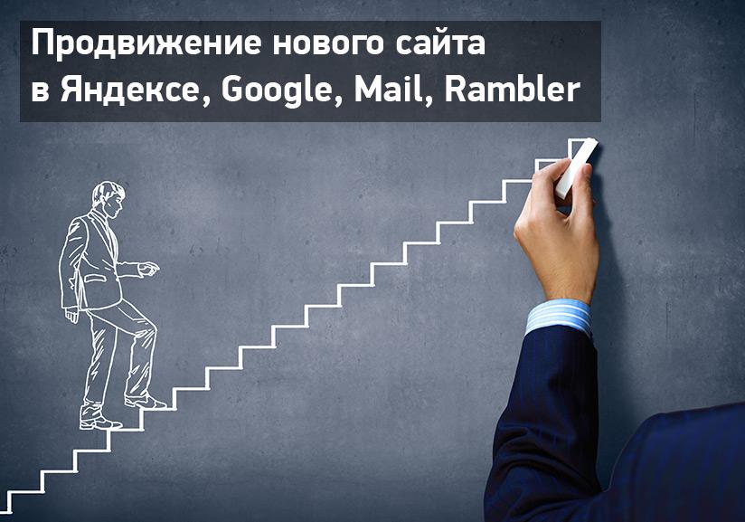 Эффективное продвижение нового сайта в Яндексе Гугле