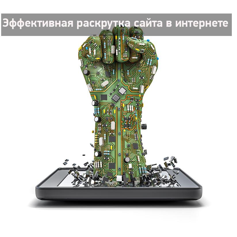 Успешная раскрутка сайта в интернете