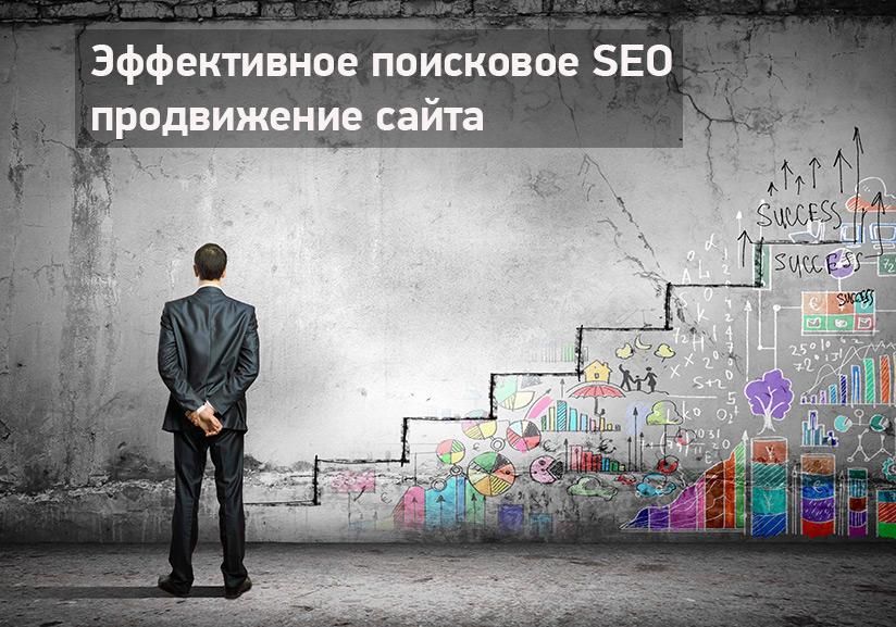 Эффективное поисковое SEO продвижение сайта